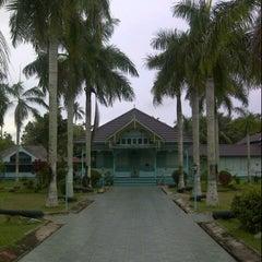 Photo taken at Keraton Amantubillah Mempawah by Kokotomoro M. on 9/9/2012