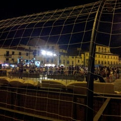 Photo taken at Piazza Mercatale by Alessio M. on 9/10/2012