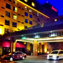 Photo taken at Albany Marriott by Ed B. on 3/13/2012