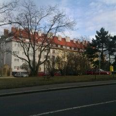 Photo taken at Sdružení (bus) by Cyril E. on 2/21/2012