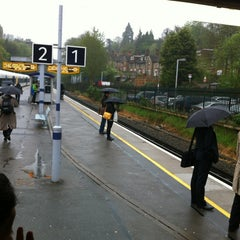 Photo taken at Sevenoaks Railway Station (SEV) by Ian M. on 5/8/2012