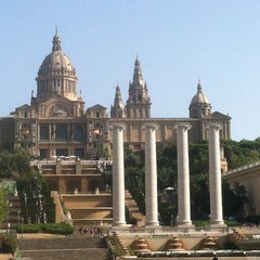 Photo taken at Museu Nacional d'Art de Catalunya (MNAC) by Natalia Q. on 8/21/2012