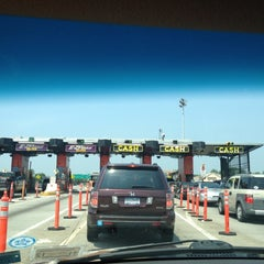 Photo taken at Throgs Neck Bridge Toll Plaza by Yahaira R. on 5/26/2012