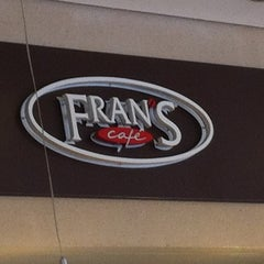 Photo taken at Fran's Café by Eduardo P. on 3/30/2012