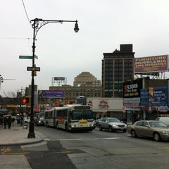 Photo taken at Fordham Shopping District by fromTheBronx 4sq Page on 2/29/2012