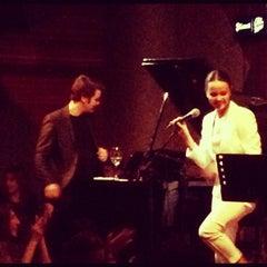 Photo taken at Istanbul Jazz Center by Nihat Sinan E. on 3/12/2012