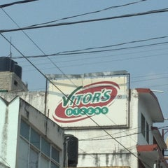 Photo taken at Vitor's Pizza by Sergio L. on 5/12/2012