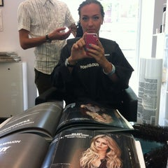 Photo taken at Toni&Guy by Olga T. on 7/13/2012