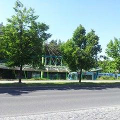 Photo taken at Poliklinika Barrandov (tram, bus) by Jana H. on 5/19/2012