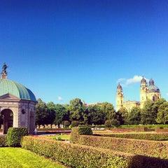 Photo taken at Hofgarten by Paula M. on 7/12/2012