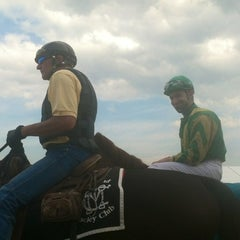 Photo taken at Pimlico Race Course by Francene on 4/21/2012