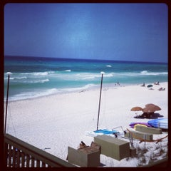 Photo taken at Rosemary Beach by Shann T. on 4/15/2012