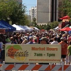 Photo taken at Sarasota Farmers Market by Staci D. on 3/24/2012