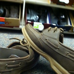 Photo taken at Payless ShoeSource by Ben W. on 4/11/2012