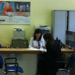 Photo taken at ВТБ24 by Olyuwe4ka on 4/16/2012