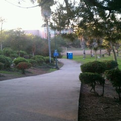 Photo taken at Pan Pacific Park by Oscar K. on 2/11/2012