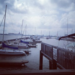 Photo taken at Charleston Harbor Resort & Marina by Lucretia G. on 5/9/2012