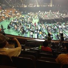 Photo taken at 国立代々木競技場 第二体育館 by Hisayoshi A. on 7/6/2012