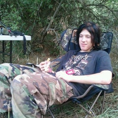 Photo taken at Hell Survivors Paintball Playfield by Matt W. on 7/28/2012