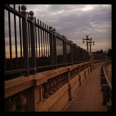 Photo taken at Colorado Street Bridge by Melanie N. on 2/7/2012