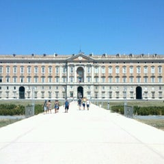 Photo taken at Reggia di Caserta by Marcio H. on 8/17/2012