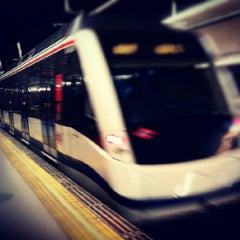 Photo taken at Metro Ciudad Universitaria by David C. on 6/15/2012
