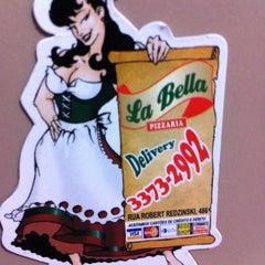 Photo taken at La Bella Pizzaria by Nehi O. on 3/19/2012