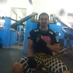 Photo taken at Academia Pontes Fitness by Walter M. on 7/27/2012