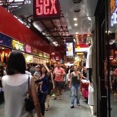 Photo taken at Bugis Street by Xty P. on 9/11/2012