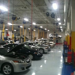 Photo taken at Boch Honda by Dave F. on 4/27/2012