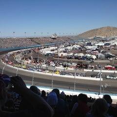 Photo taken at Phoenix International Raceway by Brad C. on 3/3/2012