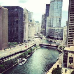 Photo taken at Sheraton Chicago Hotel & Towers by Mark J. on 8/9/2012