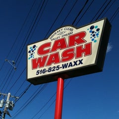 Photo taken at Squeaky Clean of Valley Stream Car Wash by Geoff W. on 6/27/2012