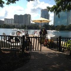 Photo taken at Lake Eola Park by Jeff C. on 9/1/2012