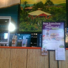 Photo taken at Tropical Smoothie Café by PayMaster P. on 4/24/2012