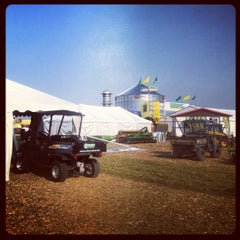 Photo taken at Farm Progress Show by Tara C. on 8/27/2012