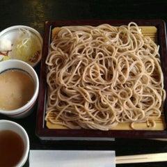 Photo taken at 軽井沢 川上庵 by hideaki t. on 2/5/2012