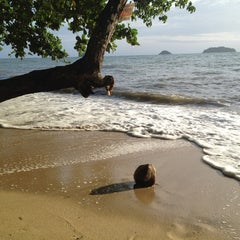 Photo taken at Gajapuri Resort and Spa Koh Chang by Anna S. on 7/2/2012