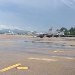 Photo taken at Osan Air Base by Anandaraj S. on 8/22/2012