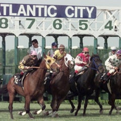 Photo taken at Atlantic City Race Course by Maureen B. on 3/10/2012