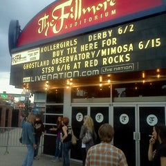 Photo taken at Fillmore Auditorium by Sparkle P. on 6/3/2012