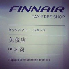 Photo taken at Finnair Tax-free Shop by Fedor F. on 6/6/2012