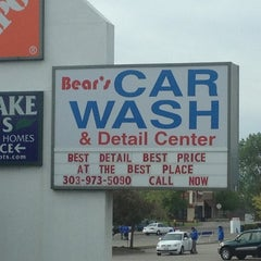 Photo taken at Bear's Car Wash & Detail Center by Lisa F. on 5/1/2012