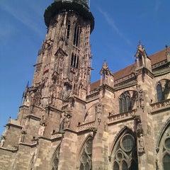 Photo taken at Wohnmobilstellplatz Freiburg by Xavi on 8/12/2012