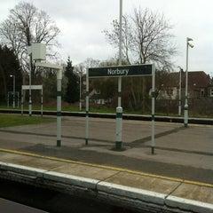 Photo taken at Norbury Railway Station (NRB) by Vishal P. on 3/16/2012