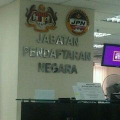 Photo taken at Jabatan Pendaftaran Negara Selangor by Mohamad Fairuz Z. on 5/23/2012