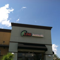 Photo taken at Lime Fresh Grill by Jason G. on 9/5/2012