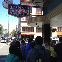 Photo taken at Tony's Pizza Napoletana by Solomon C. on 6/23/2012