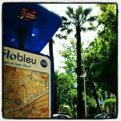 Photo taken at Vélo Bleu (Station No. 108) by Iarla B. on 5/19/2012