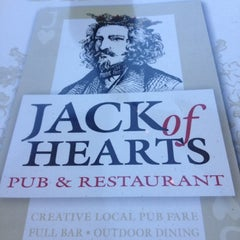 Photo taken at Jack of Hearts Pub & Restaurant by Elizabeth S. on 7/28/2012